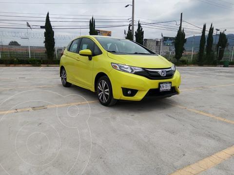 Honda Fit EX 1.5L CVT usado (2016) color Amarillo precio $211,900