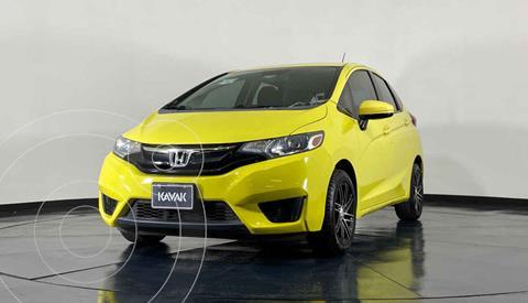 Honda Fit Fun 1.5L usado (2016) color Amarillo precio $187,999