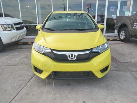 Honda Fit FUN L4/1.5 MAN usado (2015) color Amarillo precio $179,900