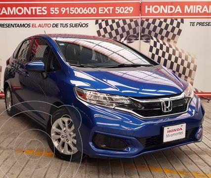 Honda Fit Fun 1.5L usado (2018) color Azul financiado en mensualidades(enganche $57,500 mensualidades desde $4,672)