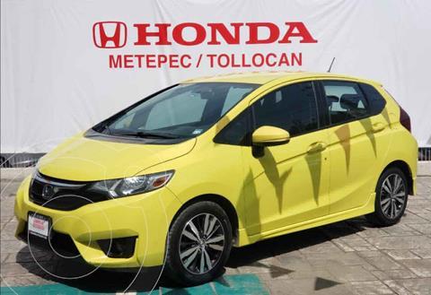 Honda Fit Fun 1.5L Aut usado (2016) color Amarillo precio $184,900
