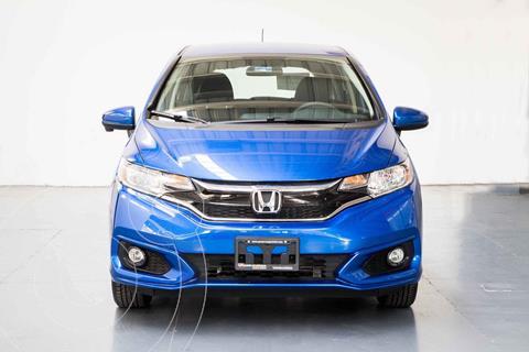 Honda Fit EX 1.5L CVT usado (2020) color Azul precio $341,000