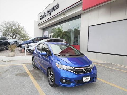 Honda Fit Hit 1.5L Aut usado (2019) color Azul precio $258,000