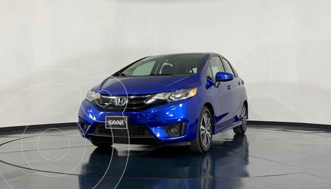 Honda Fit Hit 1.5L Aut usado (2017) color Azul precio $229,999
