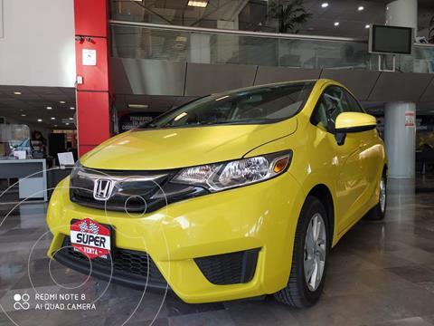 Honda Fit Fun 1.5L usado (2015) color Amarillo precio $179,000
