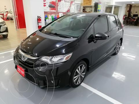 Honda Fit Hit 1.5L Aut usado (2017) color Negro precio $209,000