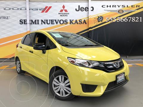 Honda Fit Cool 1.5L usado (2016) color Amarillo precio $170,000