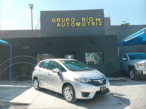 Honda Fit Fun 1.5L usado (2015) color Plata Dorado precio $139,800
