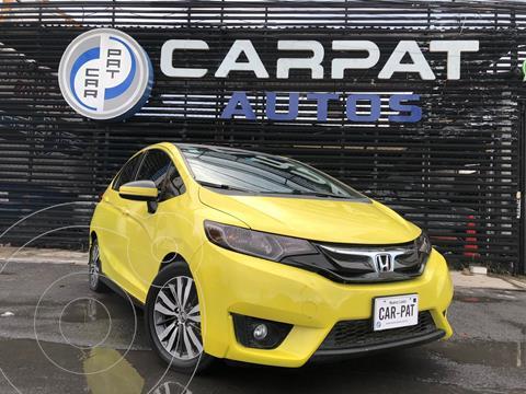 Honda Fit Hit 1.5L Aut usado (2015) color Amarillo precio $154,000