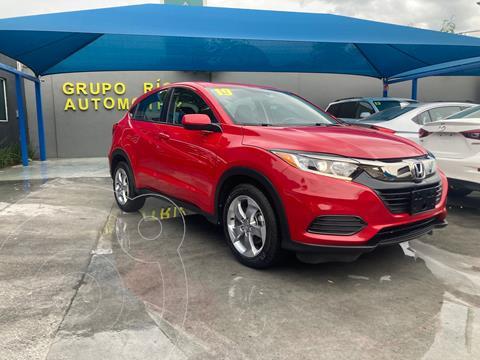 foto Honda HR-V Uniq usado (2019) color Rojo precio $309,000