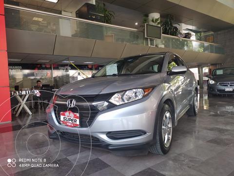 Honda HR-V Uniq usado (2017) color Plata Dorado precio $279,000