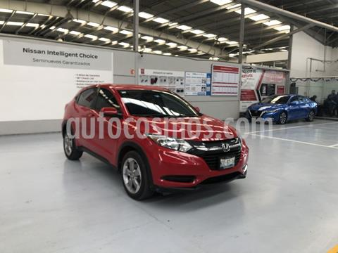 Honda HR-V Uniq Aut usado (2018) color Rojo precio $269,000