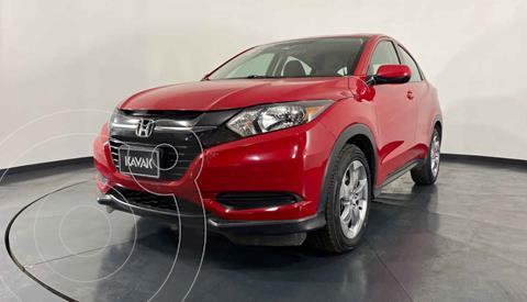 Honda HR-V Uniq Aut usado (2017) color Rojo precio $272,999