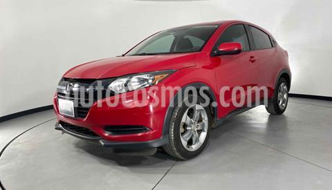 Honda HR-V Uniq Aut usado (2017) color Rojo precio $262,999