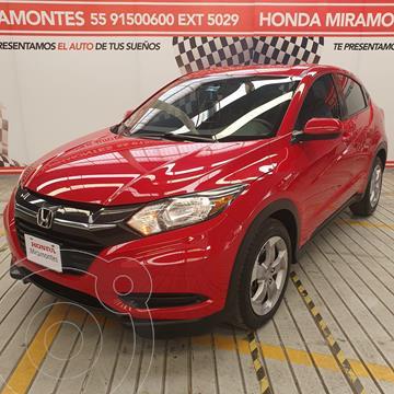 Honda HR-V Uniq Aut usado (2016) color Rojo Milano financiado en mensualidades(enganche $71,250 mensualidades desde $6,512)