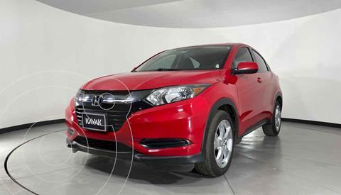 Honda HR-V Uniq usado (2016) color Rojo precio $249,999