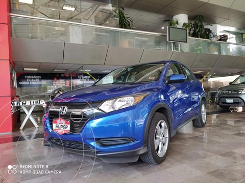 Honda HR-V Uniq usado (2018) color Azul Acero precio $319,000