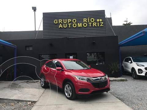Honda HR-V Uniq usado (2019) color Rojo precio $318,000