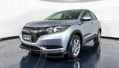 Honda HR-V Uniq Aut usado (2018) color Plata precio $299,999