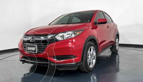 Honda HR-V Uniq Aut usado (2016) color Rojo precio $257,999