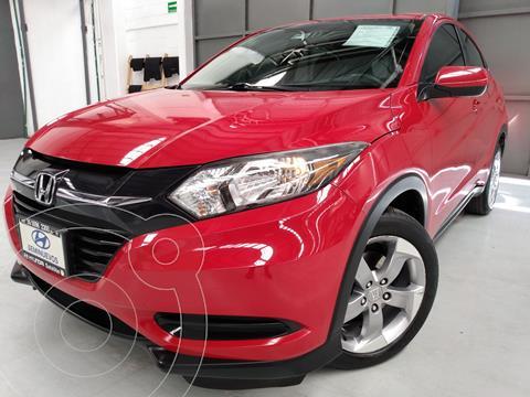 Honda HR-V Uniq usado (2017) color Rojo precio $278,000