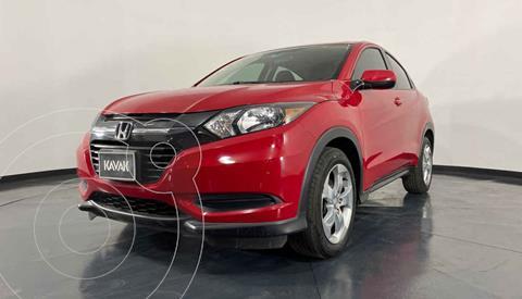 Honda HR-V Uniq Aut usado (2016) color Rojo precio $254,999