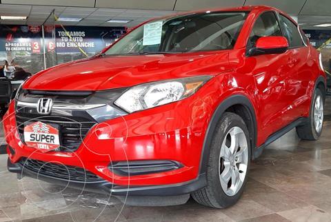 Honda HR-V Uniq usado (2016) color Rojo precio $257,000