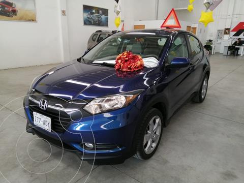 Honda HR-V Uniq Aut usado (2016) color Azul precio $255,000