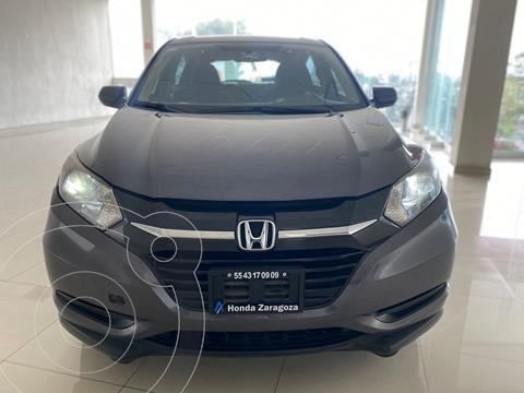 Honda HR-V Uniq usado (2017) color Gris Oscuro precio $249,247