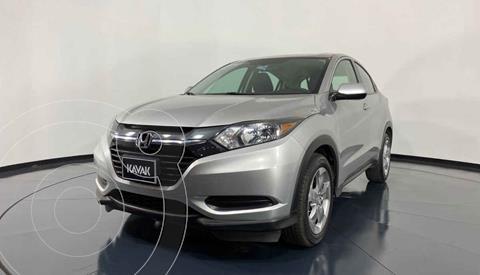 Honda HR-V Uniq Aut usado (2016) color Plata precio $257,999