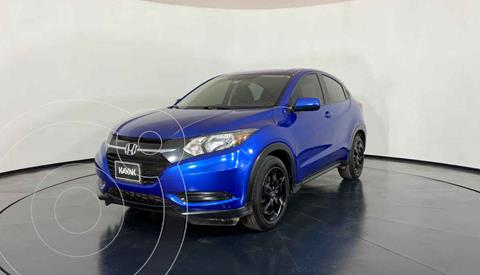 Honda HR-V Uniq Aut usado (2018) color Azul precio $299,999