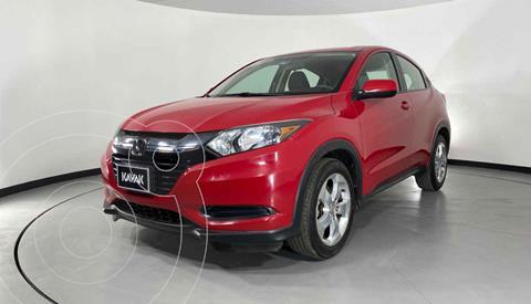 Honda HR-V Uniq Aut usado (2016) color Rojo precio $239,999