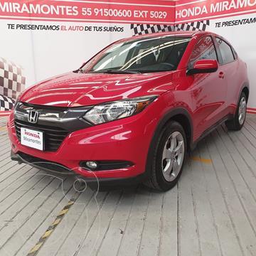 Honda HR-V Epic Aut usado (2016) color Rojo Milano financiado en mensualidades(enganche $70,000 mensualidades desde $6,520)