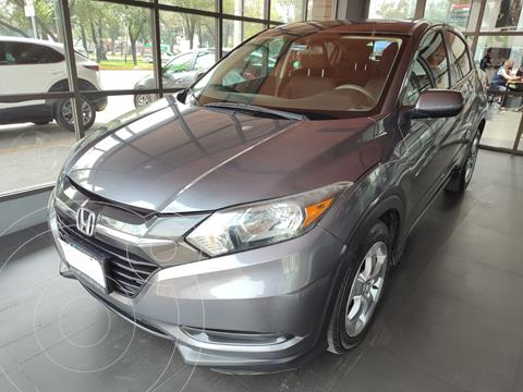 Honda HR-V Uniq Aut usado (2017) color Gris precio $277,000