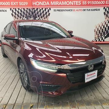 Honda Insight 1.5L usado (2019) color Rojo financiado en mensualidades(enganche $127,500 mensualidades desde $10,226)