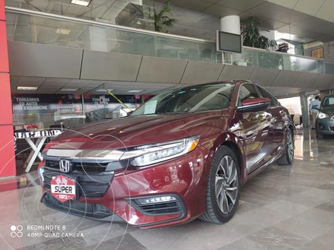 Honda Insight 1.5L usado (2020) color Rojo Cobrizo precio $559,000