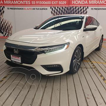 Honda Insight 1.5L usado (2019) color Blanco financiado en mensualidades(enganche $115,000 mensualidades desde $9,123)
