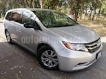 Foto venta Auto usado Honda Odyssey 5p LX V6/3.5 Aut (2015) color Plata precio $290,000