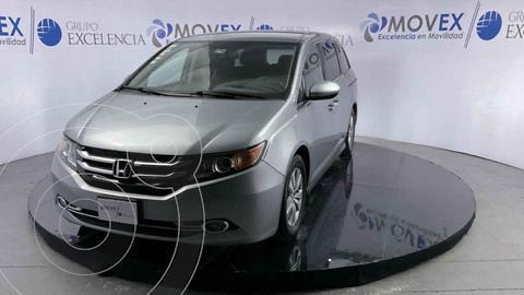 Honda Odyssey EXL usado (2016) color Plata precio $380,000