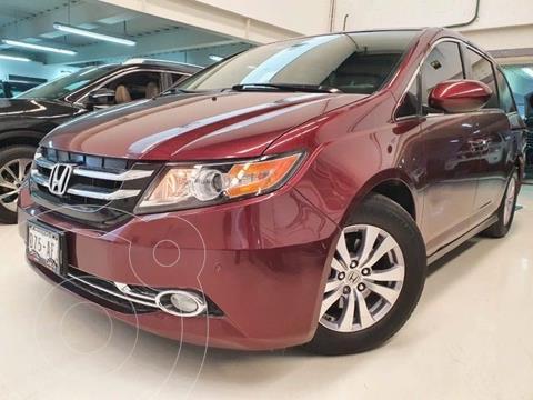 Honda Odyssey EXL usado (2016) color Rojo Cobrizo precio $399,100