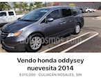 Honda Odyssey EXL usado (2014) color Gris precio $285,500