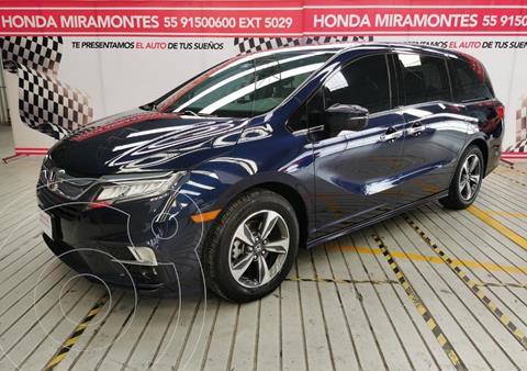 Honda Odyssey Touring usado (2019) color Azul financiado en mensualidades(enganche $175,000 mensualidades desde $13,994)