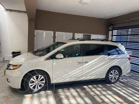 Honda Odyssey EXL usado (2016) color Blanco precio $370,000