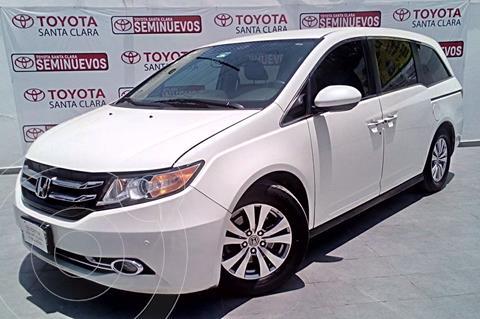 Honda Odyssey EXL usado (2016) color Blanco precio $395,000