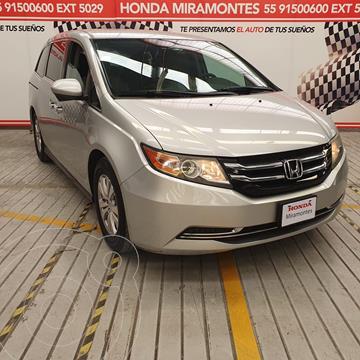 Honda Odyssey EX usado (2014) color Plata financiado en mensualidades(enganche $120,000 mensualidades desde $8,760)