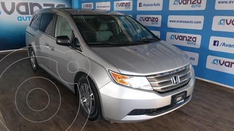 Honda Odyssey LX usado (2013) color Plata financiado en mensualidades(enganche $84,614 mensualidades desde $8,641)
