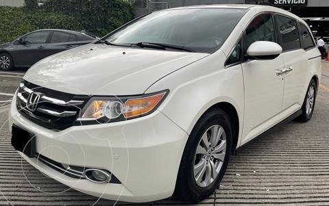 Honda Odyssey EXL usado (2016) color Blanco Diamante financiado en mensualidades(enganche $91,289 mensualidades desde $10,275)