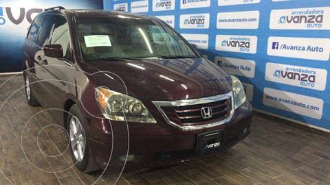 Honda Odyssey Touring usado (2010) color Bordo precio $165,000