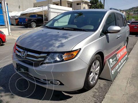Honda Odyssey EXL usado (2015) color Plata precio $328,000
