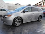 Foto venta Auto usado Honda Odyssey Touring (2014) color Plata precio $350,000